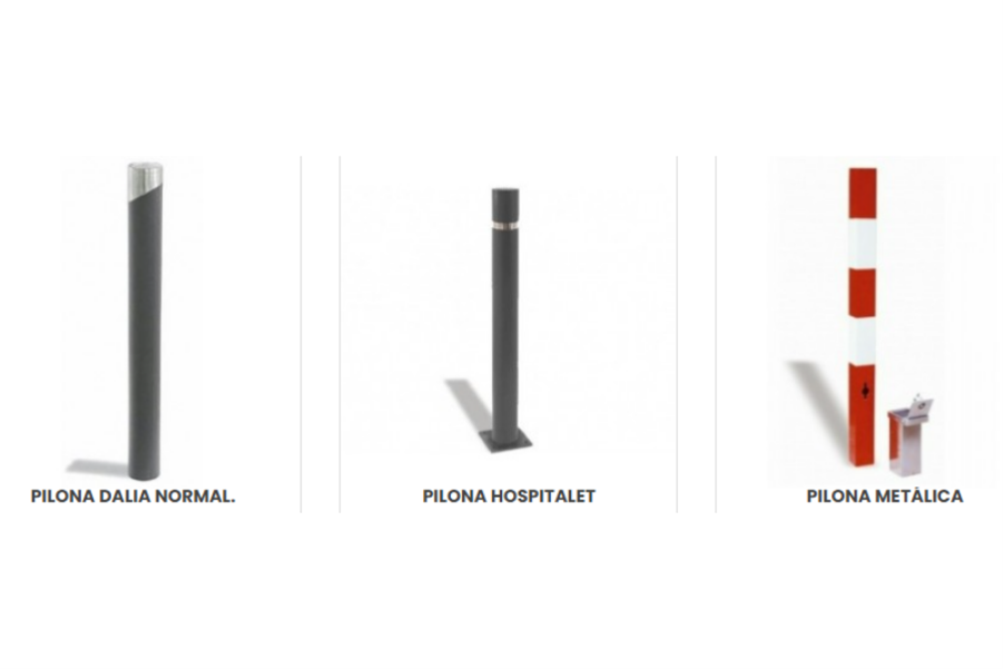 El uso de las pilonas